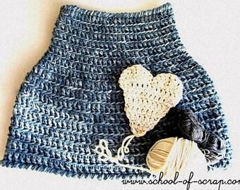 Pattern for Primitive Cape - crochet capelet fast and nice  (IT - US EN)