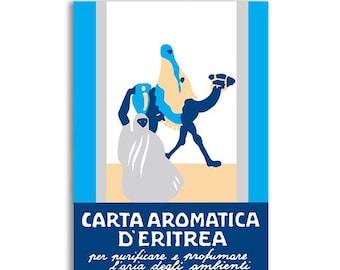 Italian Aromatic Paper - Carta aromatica d'eritrea BLU - Essence du Touareg