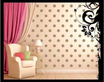 40-80 Vinyl Circle Wall Decal; Vinyl Decal - Vinyl Wall Art Nursery