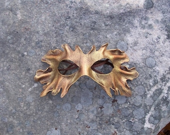 Gold Leaf mask