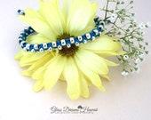 Boho Stack Bracelet, Beaded Macrame Bracelet, Handmade Knotted Bracelet, Royal Blue, Heart Charm, Friendship Bracelet, Bollywood Bracelet
