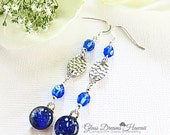 Lapis Blue Dangle Earring...