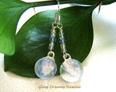 Radiant Glass Dangle Earr...
