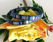 Beaded Leather Wrap Bracelet, Tila Bead Leather Wrap Bracelet, Chan Luu Style Bracelet, Double Wrap Bracelet, Boho Beaded Leather Bracelet