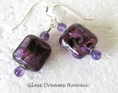 Amethyst Lampwork Dangle ...
