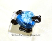 Glass Turtle (Honu) Bead,...