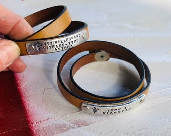 Medical id bracelet | Etsy