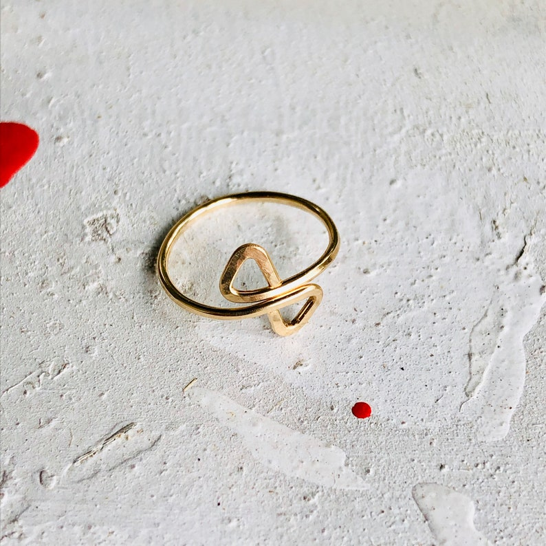Toe Ring Adjustable Toe Ring Gold Toe Ring Silver Toe Ring image 0
