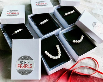 Pearl Necklace in Silver, Silver Add a Pearl Necklace