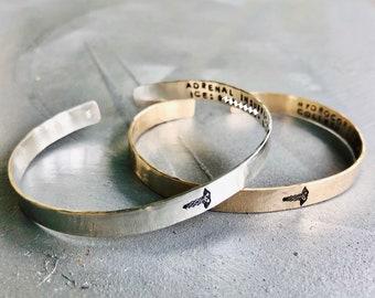 Medical Alert Bracelet, Medical Alert Cuff, Medical ID Bracelet