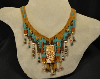 Woven Necklace 862