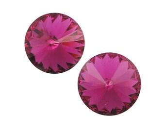 Dark pink stone | Etsy