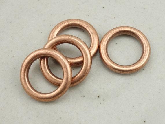 Lotsa Copper Undertow Rings