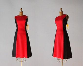 Colorblock Retro Dress