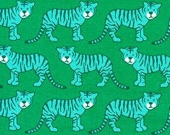 Sold by the Yard and Cut Continuous Sand Baby Tiger by Elizabeth Hartman for Robert Kaufman Library In Stock and Ships Today