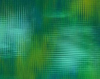 Aflutter Woven Spectrums Green Studio E Fabric