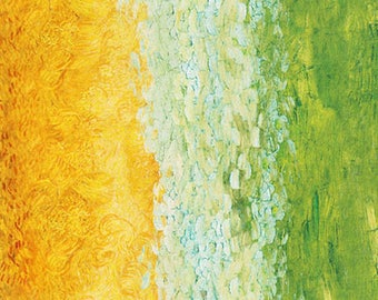 Sunrise Van Gogh Museum Digital Robert Kaufman Fabric