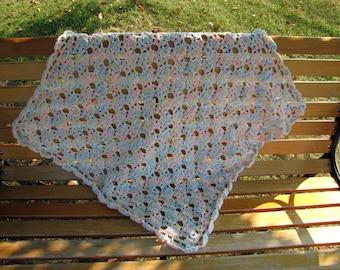 Baby Blanket, Crochet, Elegant Baby Blanket, Baby Shower Gift, Baby Gift, Ready to Ship