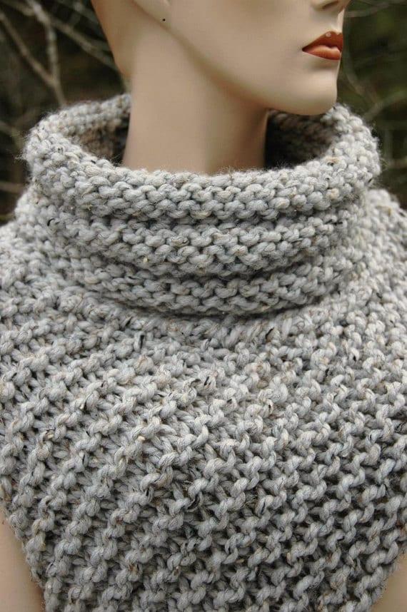 Knitting Pattern Katniss Cowl Huntress Vest Etsy