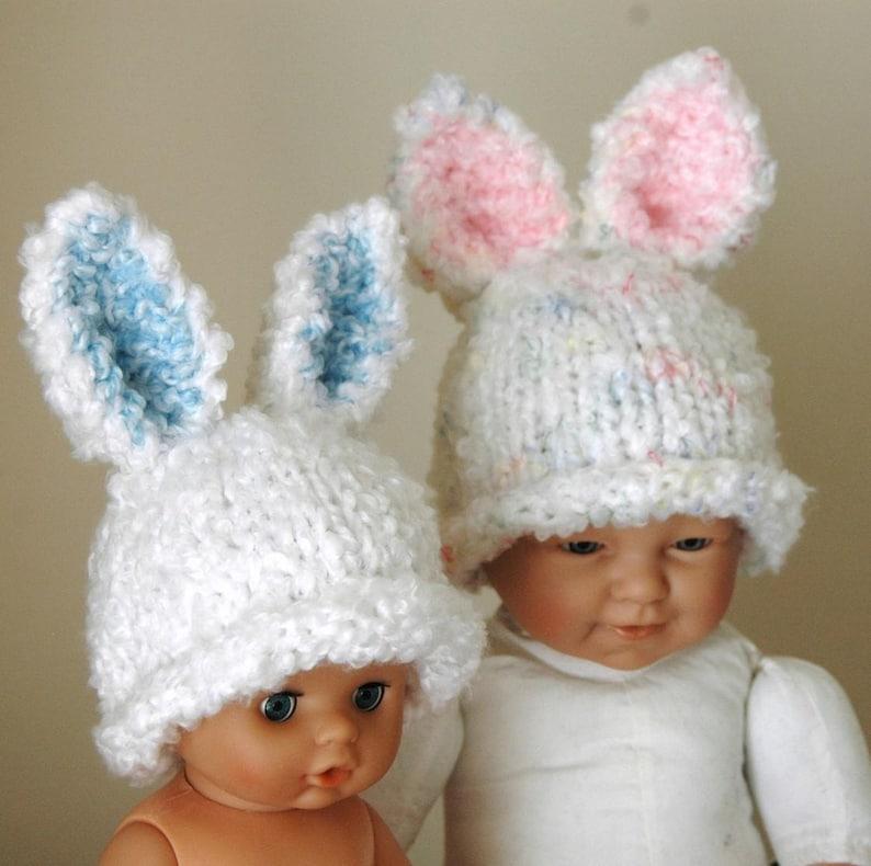 KNITTING PATTERN Baby Bunny Hat PDF | Etsy