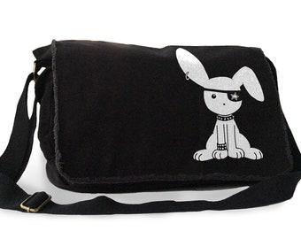 Creepy Messenger Bag Etsy