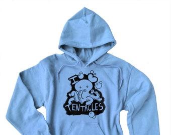 Octopus sweatshirt - tentacles fandom - Kawaii sweatshirt - cute hentai - I love tentacles - anime hoodie - sea animal sweatshirt
