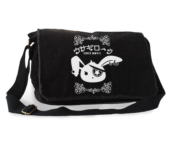 Pastel goth bag Aesthetic pastel grunge school bag Nu goth laptop bag yami kawaii