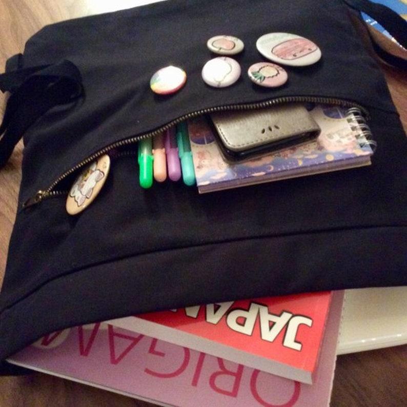 kpop love cute korean school bag kawaii laptop bag ulzzang k-pop Saranghae Korean Backpack Cinch Bag