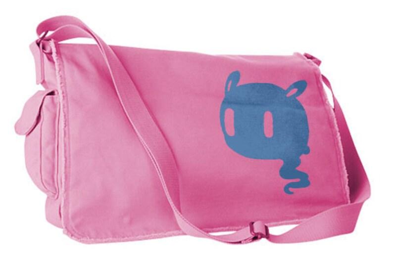 Creepy Cute Messenger Bag pastel grunge bag Kawaii Ghost  8ca5a00c35d01