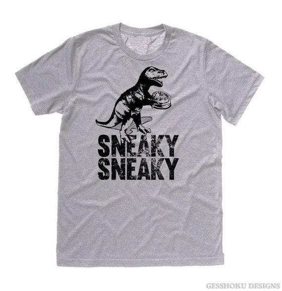 Dinosaure t-shirt chemise T-Rex hipster tee sournois dino avec  54f6b0c70d7