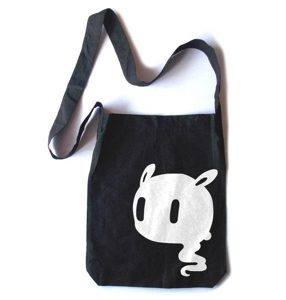 Kawaii Ghost tote bag Pastel Goth creepy cute bookbag tote kawaii shopping  tote 90396e1699d23