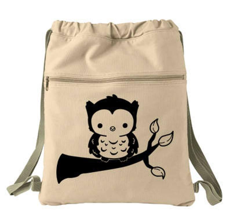 2f7a413bf501 Kawaii Owl Backpack cute baby owl bag mori kei kawaii clothing