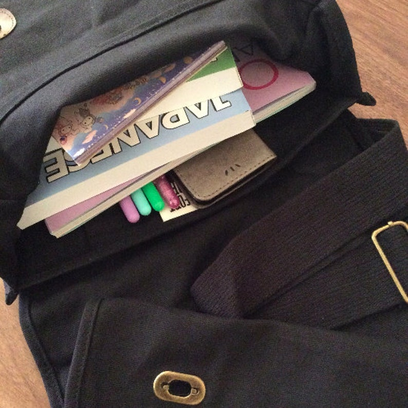 62acd3974c No Anime No Life anime messenger bag otaku school bag book
