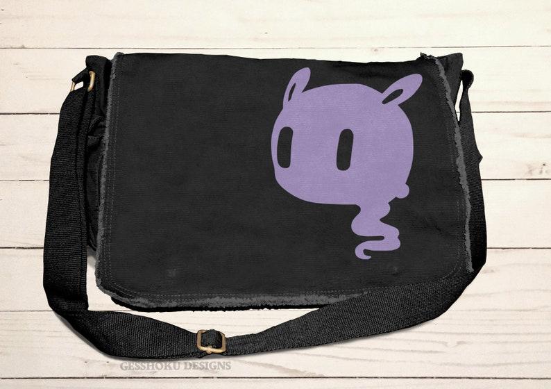 295bb1c254 Creepy Cute Messenger Bag pastel grunge bag Kawaii Ghost