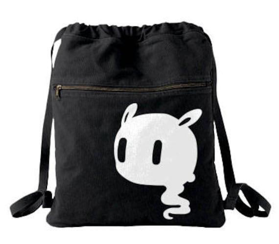 Kawaii ghost bag Pastel goth backpack Creepy cute school bag  dbd5054d841f6