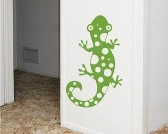 Nursery Wall Decals Spotty Lizard - Vinyl Wall Stickers Art Graphics Custom Home Decor