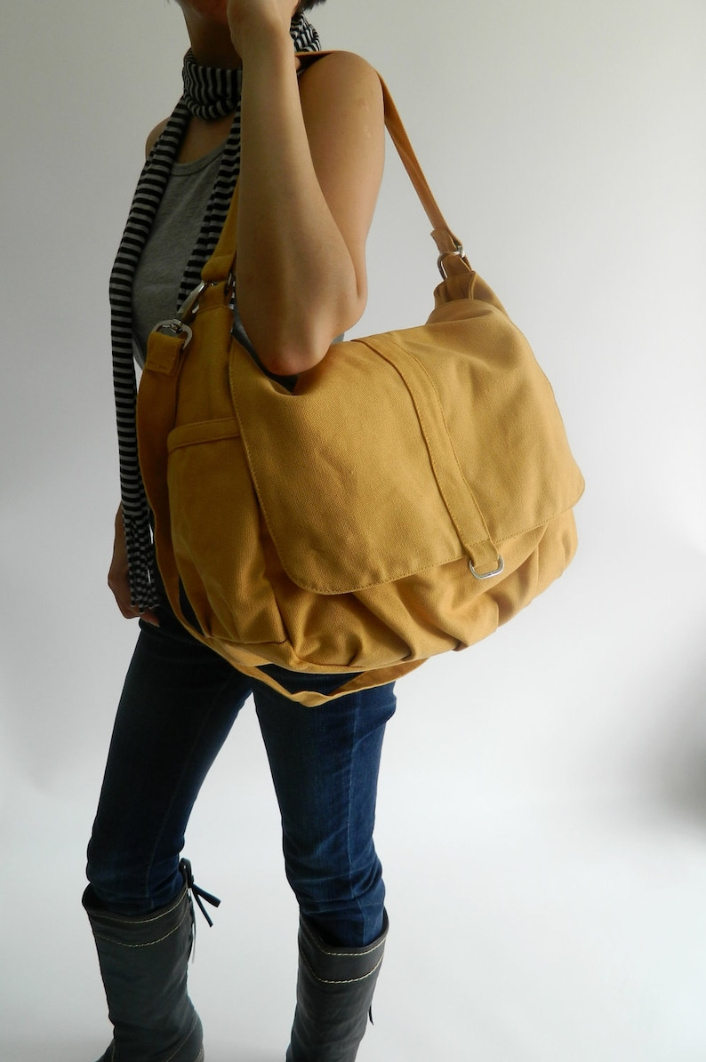 Mustard messenger diaper bagWomen Cross body bag for mom  2ab5cb967c37e
