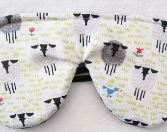 Certified ALL ORGANIC Eye Mask- Fully Adjustable