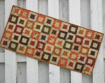 Quilted Table Runner (TGTRE) Fall