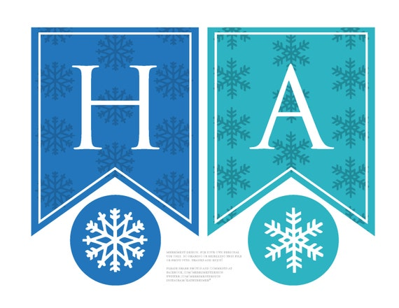 image about Frozen Banner Printable called Frozen Birthday Banner custom made printable for a Frozen