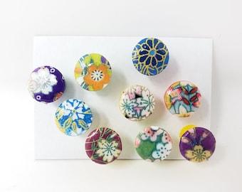 Colorful Push Pins, Jumbo Large Push Pins, Washi Paper Push Pins, Jumbo Decorative Push Pins, Office Professional, School Supplies