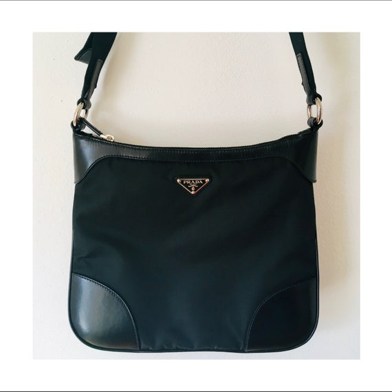 0ca417113e8 ... ebay authentic prada bag black crossbody bag luxury bag prada nylon  etsy 38ffc 6945c