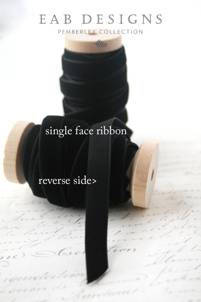Black Velvet Ribbon Black Ribbon Velvet Ribbon 38 Velvet Ribbon Choker Ribbon