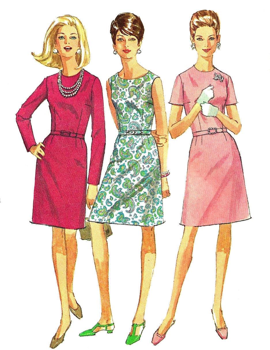 1960s Dress Patterns Interesting Inspiration Ideas