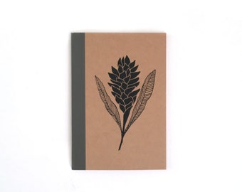 Mini Red Ginger Notebook