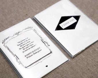 Romantic Love Notes (set of 2)