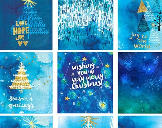 Inky Blue Christmas Gift Tags, Instant Digital Download , 12 gift tags, digital scrapbooking, art journal, collage, printable, mixed media