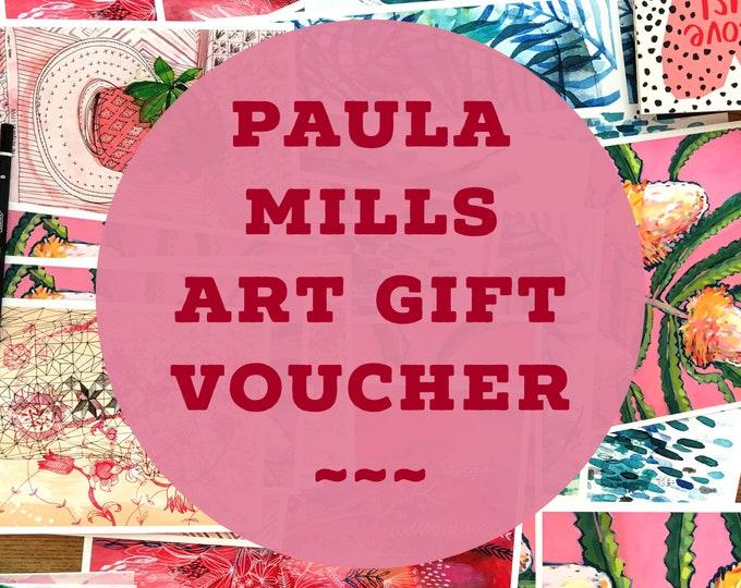 Paula Mills Gift Voucher