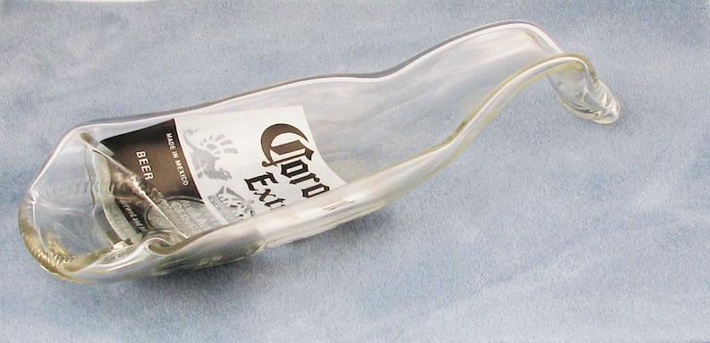 Three sizes of Corona beer bottles - spoonrest or dish - 24 oz bottle - 12  oz  and 7 oz Coronita