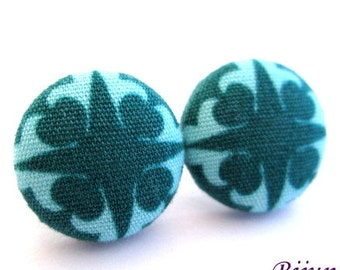 Indian earrings - Turquoise indian stud earrings - Indian blue studs - Indian posts - Indian post earrings sf1215